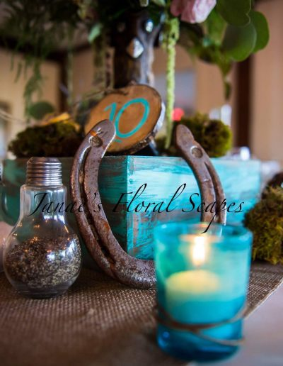 Cowboy Wedding Decor